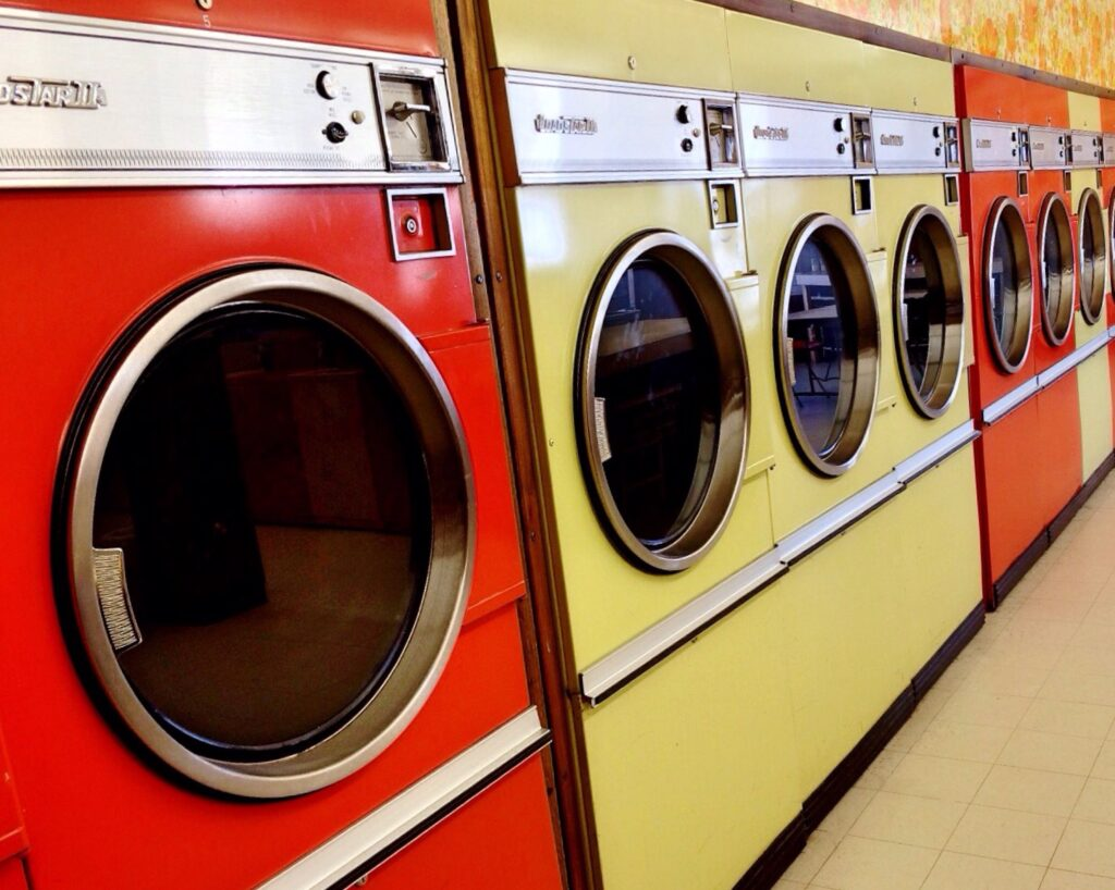 Behold din gamle vaskemaskine